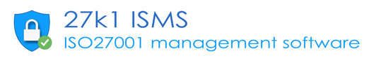 27k1 ISMS management software graphic
